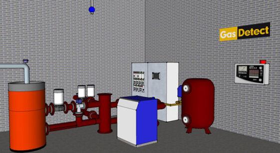 Gasdetektor til kedelrum - Vi redder liv med viden