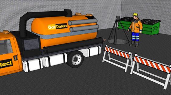 Gasdetektor til kloakarbejde - se udvalget af håndholdte detektorer her