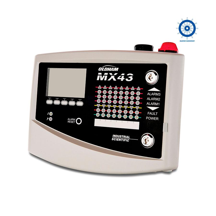Analog eller digital central MX 43 - Oldham