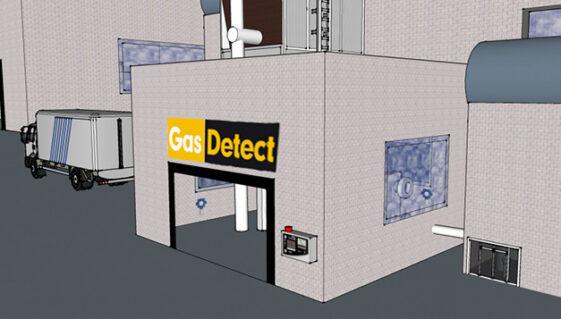 Gasdeteketor til Pakkeri - effektiv detektering af gaslækager